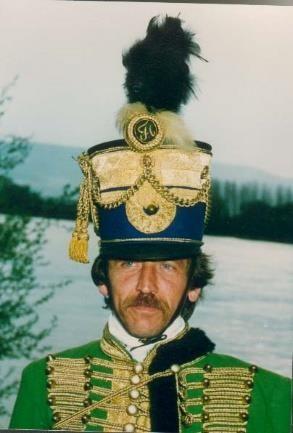 Abonyi Gábor h. ő. huszárezredes