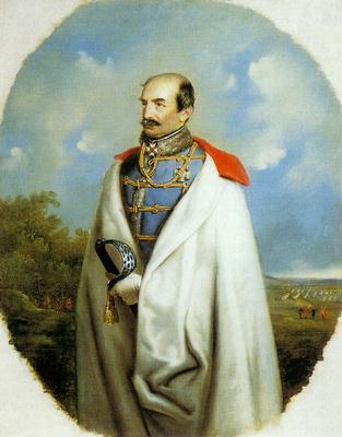 Josip Jellačić báró, horvát bán
