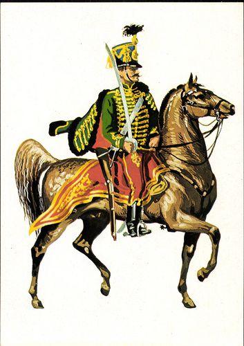 A 4. (Sándor) huszárezred katonája