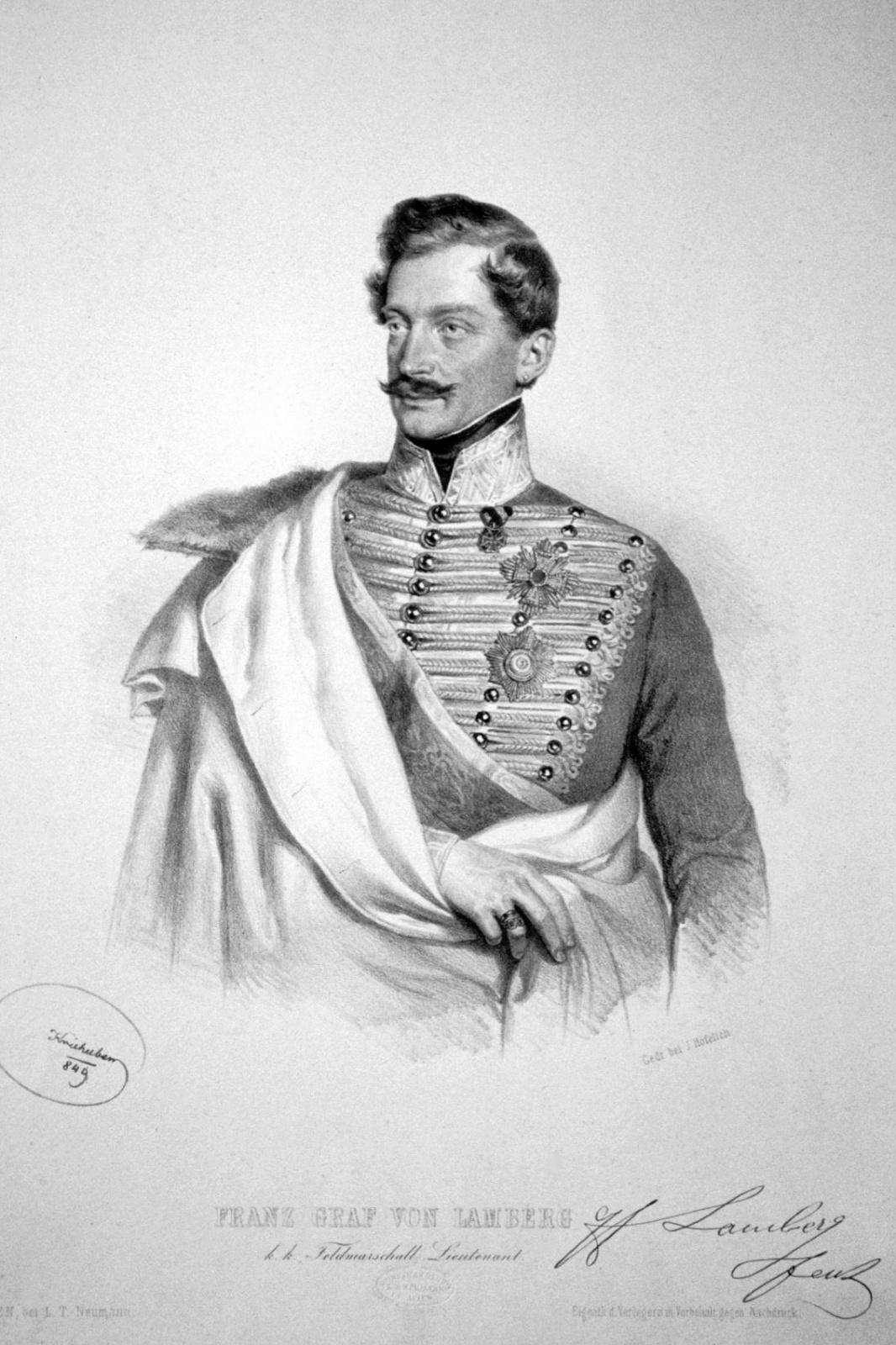 Lamberg Ferenc gróf, altábornagy
