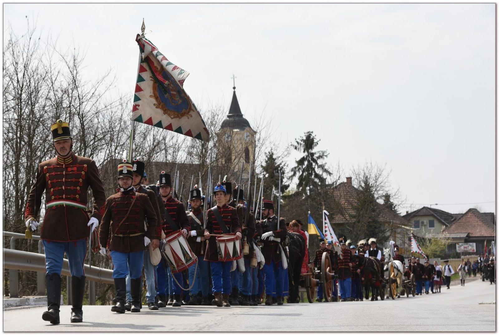 A Tavaszi Hadjárat Gyalogmenete - fotó: Schmidt Andrea