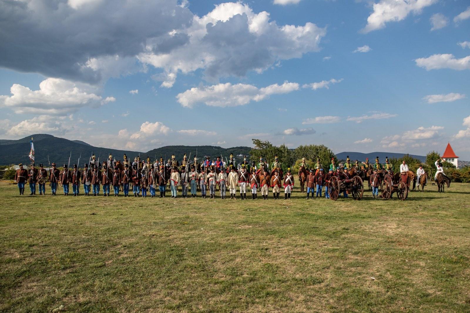 Huszár és Katonai Hagyományőrző Ünnep 2020 - Csoportkép (fotó: Palatinus Gábor)