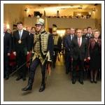 Megyezászlóval bevonulás az Ünnepi Közgyűlés színhelyére. Helyszín: Marcali