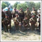 Harckocsibemutató Lesanyban
