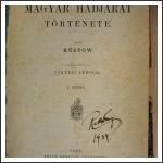 Wilhelm Rüstow: Az 1848-1849-diki magyar hadjárat története