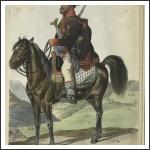 Horvát lovas határőr