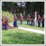 A 6 bajtárs találkozó és tüzérségi továbbképzés