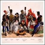 Horvát határőrök és népfelkelők