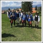 Fehérvári huszárok a csíksomlyói búcsún