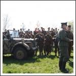 A II. világháborús harcok befejezésére emlékeztünk a Nyitra partján (fotó: Takács Dóra)