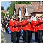Tavaszi emlékhadjáratosok találkozója a pomázi Magyar Várban - felvonulás (forrás: Pomáz Város weboldala)