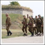 II. világháborús hadijáték Komáromban