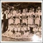 A kunszentmártoni gimnáziumi osztály (köszönjük a fotót Rák Erzsébetnek)