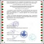 Nyilatkozat a 32. Tavaszi Emlékhadjárat 2021-re való halasztásáról