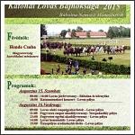 A MHKHSZ II. nemzetközi nyílt katonai lovas bajnoksága