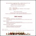 Soproni Huszárok Bálja, 2020 - Meghívó