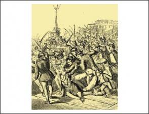 Lamberg halála, 1848. szeptember 28.