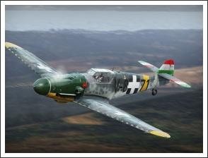 Kenyeres Miklós, v. Debrődy György - Bf 109 G-6 magyar festéssel - forrás: forum.warthunder.com