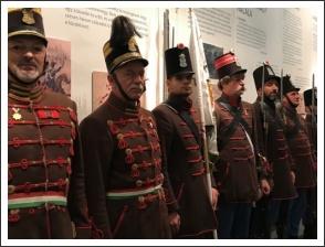 Kiállítás a segesvári csatatérről - fotó: budaihonvedek.hu