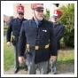 Locsolkodó zászlóőrök Hatvanban (fotó: H. Szabó Sándor)