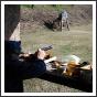 Modellágyú-tüzér verseny Jászfelsőszentgyörgyön