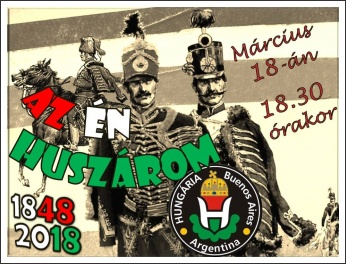Az én huszárom – Március 15. Buenos Airesben