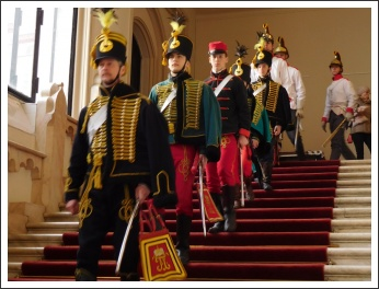 """Március 15. a Budai Várban (fotó: """"VÉRTES"""" Egyesület)"""