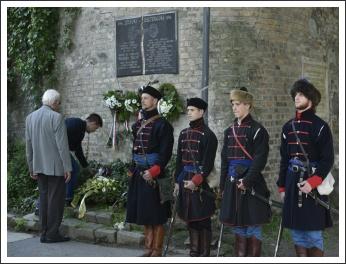 Balassi-megemlékezés Esztergomban