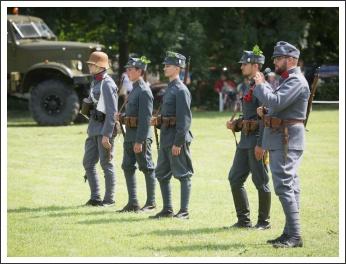 I. Katonai Hagyományőrző Fesztivál – Hadijátékok a történelem jegyében (fotó: Zentai Péter)
