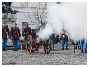 Március 15. a Budai Várban (fotó: Pető István)