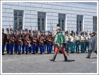 A magyar honvéd gyalogság és tüzérség ünnepe a Budai Várban (fotó: Pető István)