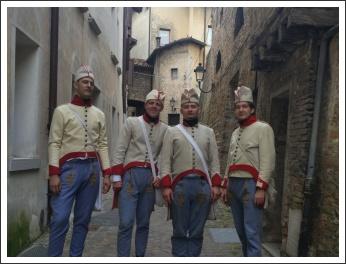 Magyar bakák nyomában, Itáliában - Sacile 1809-2019 (fotó: Vass Imola)