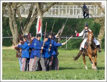 Csatabemutató Hatvanban (fotó: Pető István)