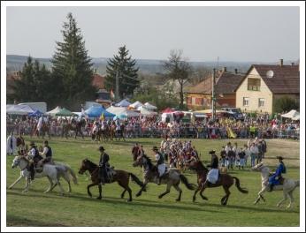 Az isaszegi csata (fotó: Pető István)