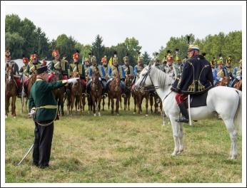 A MHKHSZ Lovasság küllemi és alaki minősítője - fotó: Pető István