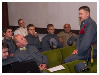 MHKHSZ gyalogsági és tüzérségi kiképzés Bábolnán (fotó: Pető István)