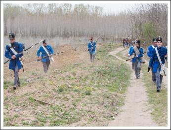 A Tavaszi Hadjárat Gyalogmenete - fotó: Pető István